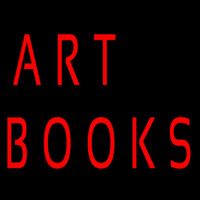 Art Books Neonskylt