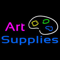 Art Supplies Neonskylt