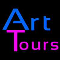 Art Tours Neonskylt