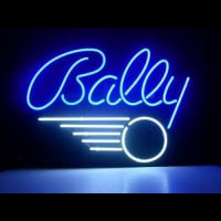 BALLY PINBALL GAME Neonskylt