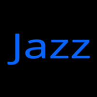 Blue Jazz 2 Neonskylt