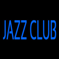 Blue Jazz Club Block 2 Neonskylt
