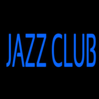 Blue Jazz Club Neonskylt