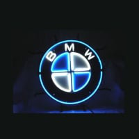 Bmw German Auto Car Store Dealer Neonskylt