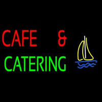 Cafe And Catering Neonskylt