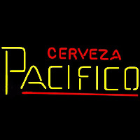 Cerveza Pacifico Beer Sign Neonskylt