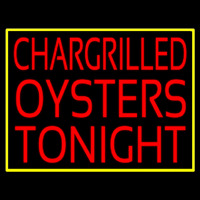 Chargrilled Oysters Tonight Neonskylt