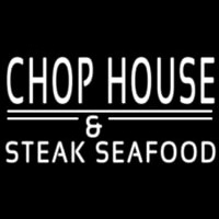 Chophouse And Steak Seafood Neonskylt