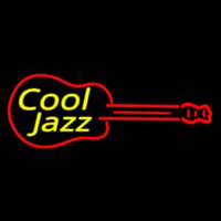 Cool Jazz Guitar 2 Neonskylt