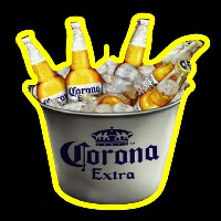 Corona E tra On Ice Beer Sign Neonskylt
