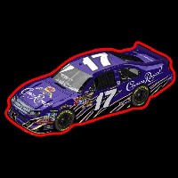Crown Royal NASCAR Neonskylt