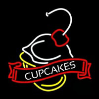 Cup Cakes Neonskylt
