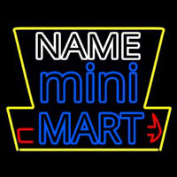 Custom Mini Mart Neonskylt