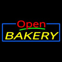 Custom Open Bakery 2 Neonskylt