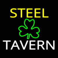 Custom Steel Tavern 1 Neonskylt