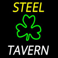 Custom Steel Tavern 3 Neonskylt
