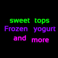 Custom Sweet Tops Frozen Yogurt And More 1 Neonskylt