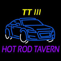 Custom Tt 3 Hot Rod Tavern Car Logo 1 Neonskylt