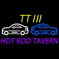 Custom Tt 3 Hot Rod Tavern Car Logo 2 Neonskylt