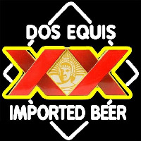 DOS Equis Imported Beer Sign Neonskylt