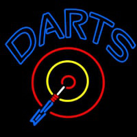 Darts Room Neonskylt