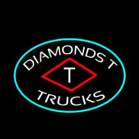 Diamond T Trucks Neonskylt
