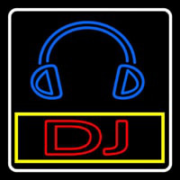 Dj With Logo Neonskylt