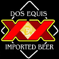 Dos Equis Beer Sign Neonskylt