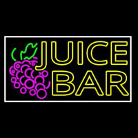 Double Stroke Juice Bar With Grapes Neonskylt