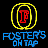 Fosters On Tap Beer Sign Neonskylt