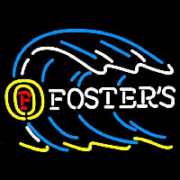 Fosters Tidal Wave Beer Sign Neonskylt