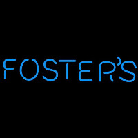 Fosters Word Beer Sign Neonskylt
