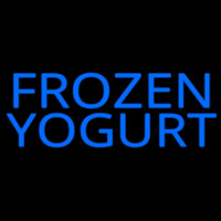 Frozen Yogurt Neonskylt