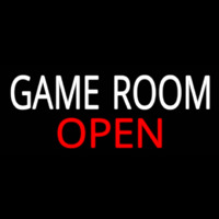 Game Room Open Real Neon Glass Tube Neonskylt