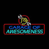 Garage Of Awesomeness Neonskylt