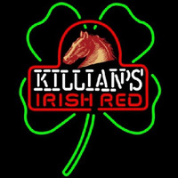 George Killians Irish Red Shamrock Beer Sign Neonskylt