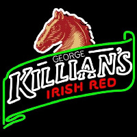 George Killians Irish Red Summer Beer Sign Neonskylt