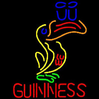 Great Looking Multicolored Guinness Beer Sign Neonskylt