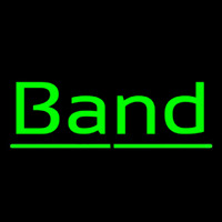 Green Band 1 Neonskylt