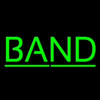 Green Band Neonskylt