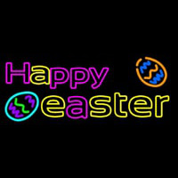 Happy Easter 2 Neonskylt