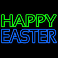 Happy Easter With Egg 2 Neonskylt