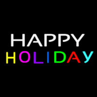 Happy Holiday Neonskylt