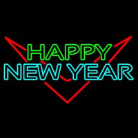 Happy New Year Logo 1 Neonskylt