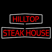 Hilltop Steakhouse Neonskylt