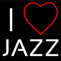 I Love Jazz Neonskylt