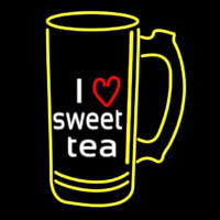 I Love Sweet Tea Neonskylt