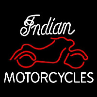 Indian Motorcycles Neonskylt
