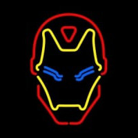 Iron Man Neonskylt