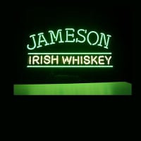 Jameson Irish Whiskey Öl Bar Öppet Neonskylt